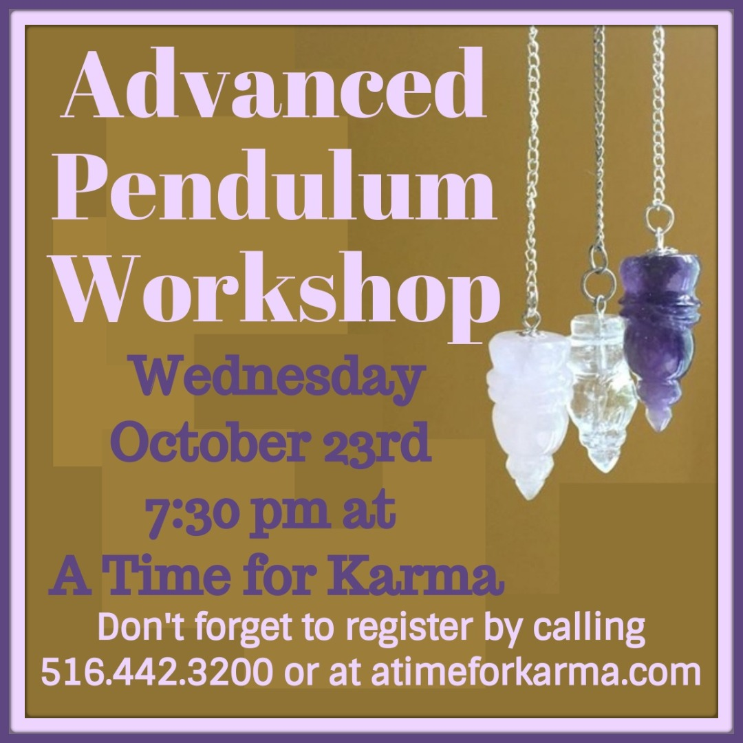 Advanced Pendulum Workshop